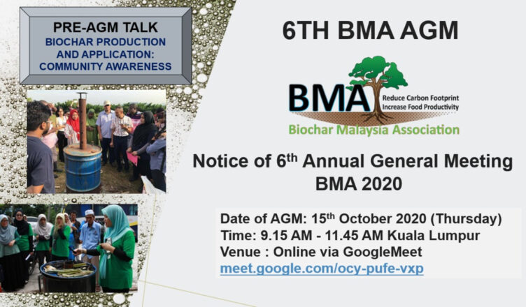 Notice of 6th Annual General Meeting BMA 2020
